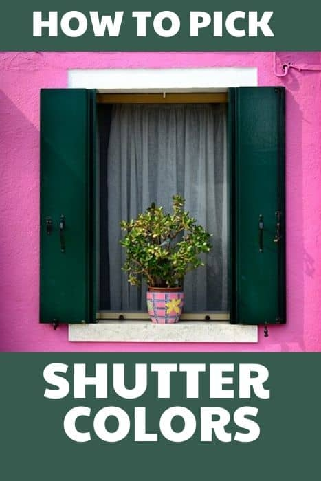 How To Pick Shutter Colors West Magnolia Charm