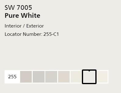 SW pure white