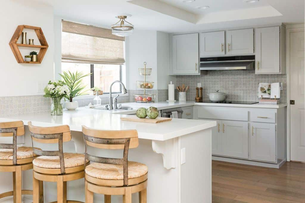 light french gray cabinets