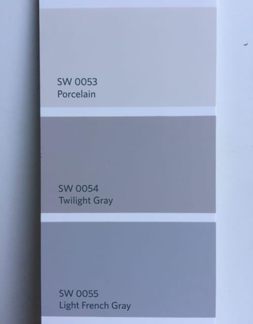 Sherwin Williams Light French Gray Sw