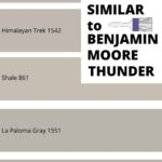 Similar colors to benjamin moore Thunder (1)