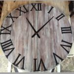 DIY Oversized Wall Clock