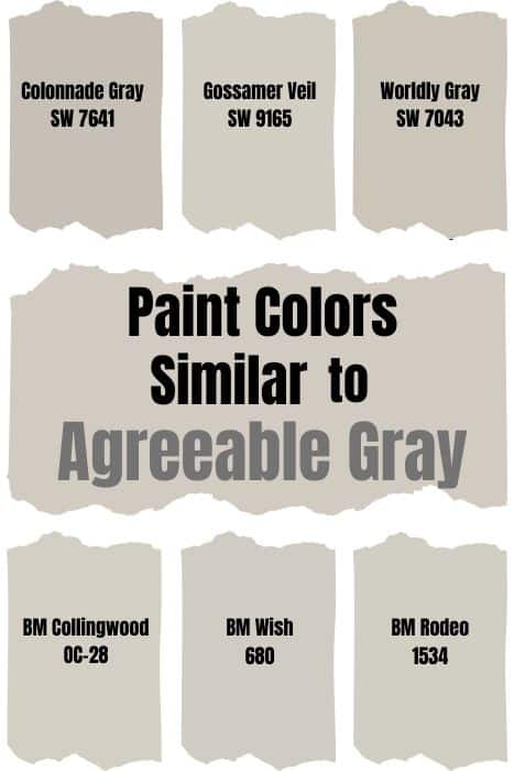 _Agreeable Gray Similar Paint Color
