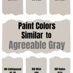 Paint Colors Similar to Agreeable Gray