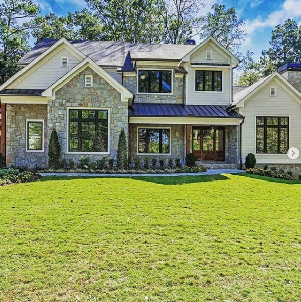 agreeable gray exterior
