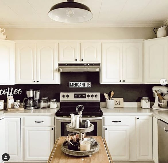 agreeable gray kitchen