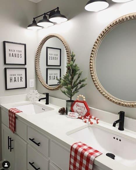 agreeable gray bathroom
