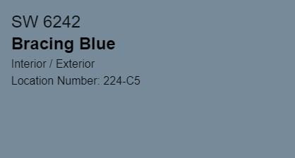 Bracing Blue SW 6242