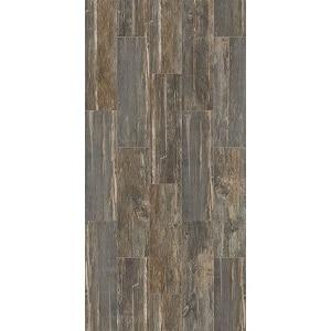 Ceramic weathered wood look tile