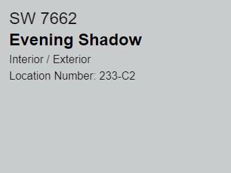 SW Evening Shadow