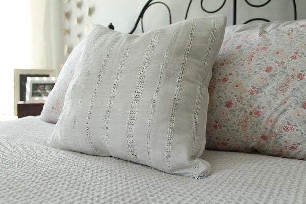 white-eyelet-napkin throw-pillow