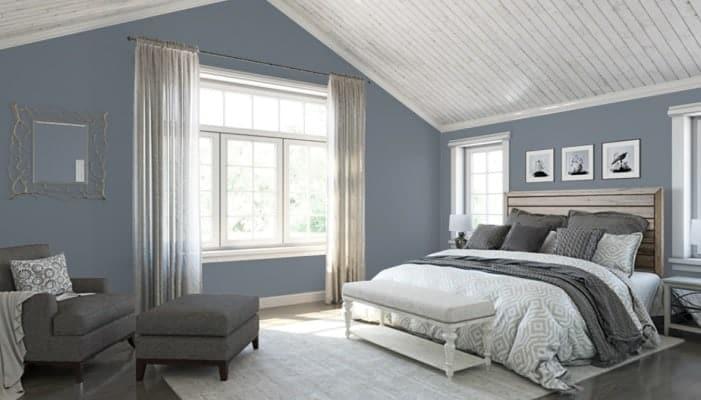 Storm cloud bedroom