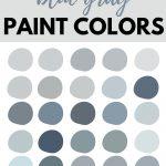 blue gray paint colors