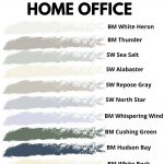 the best home office paint colors