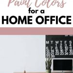 home office paint colors