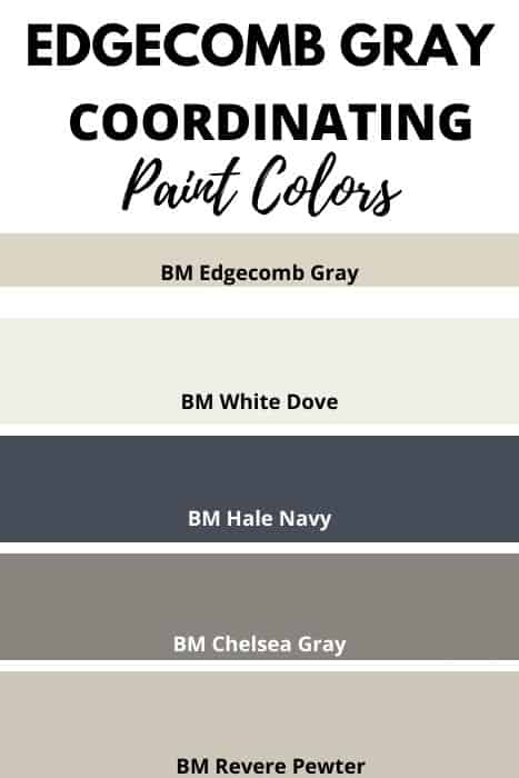 Coordination Paint Colors- Edgecomb Gray (1)