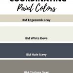 Edgecomb Gray coordination Paint colors (1)
