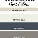 Edgecomb Gray coordination Paint colors (1)