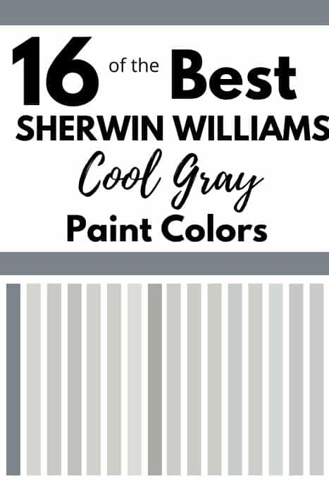 16 Cool Gray Paint Colors Sherwin Williams West Magnolia Charm