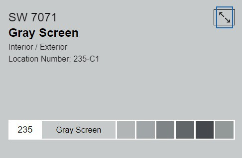 Gray Screen