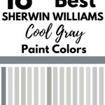 SW cool gray paint colors