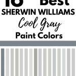 SW cool gray paint colors