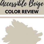 Accessible Beige Color Review