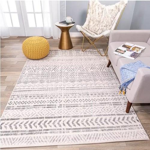 boho style rug