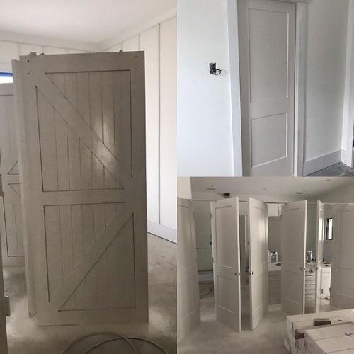 worldly gray doors