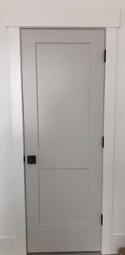 gray interior door