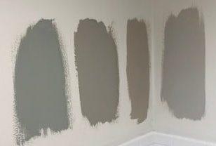 test paint samples