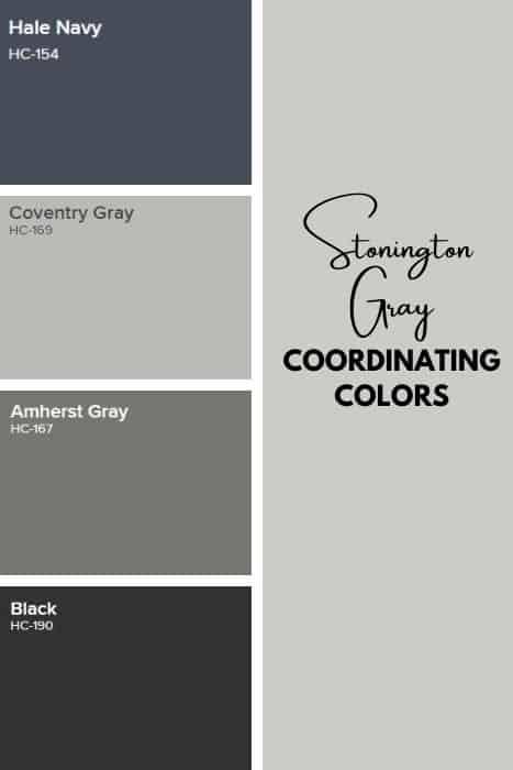 Stonington Gray Coordinating colors