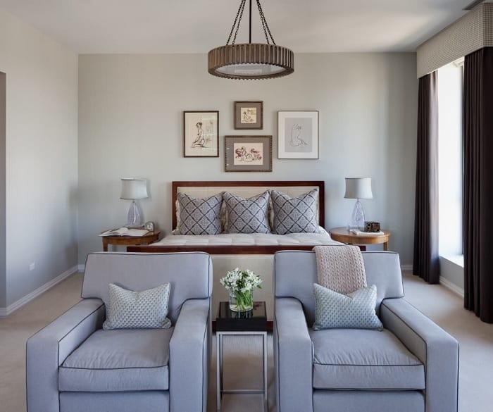 benjamin moore gray owl bedroom walls