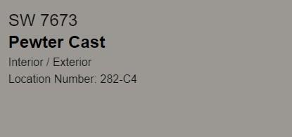 SW Pewter Cast