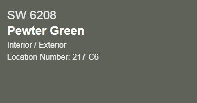 SW Pewter Green