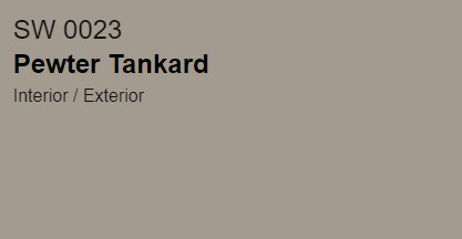 SW Pewter Tankard