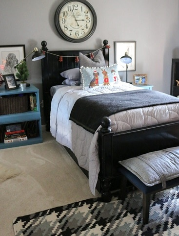 pewter paint color in bedroom