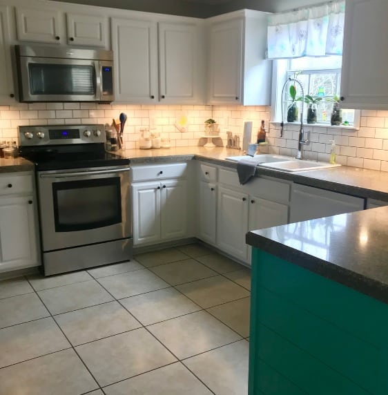 Sherwin Williams Pure White Kitchen Cabinets