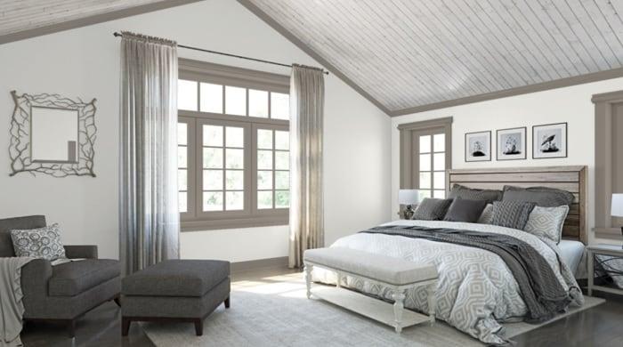 SHerwin Williams Pure White Bedroom