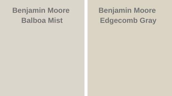 Balboa Mist vs Edgecomb